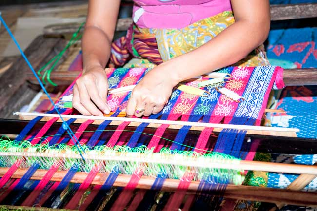 The Sasak people are the indigenous people of Lombok. Their handcraft products, especially clothes, are very sold among tourists.